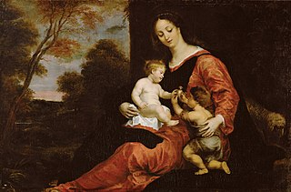 Mary and Child with John the Baptist
