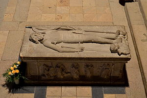 Saint Cyriakus, Gernrode - Tomb of Margrave Gero