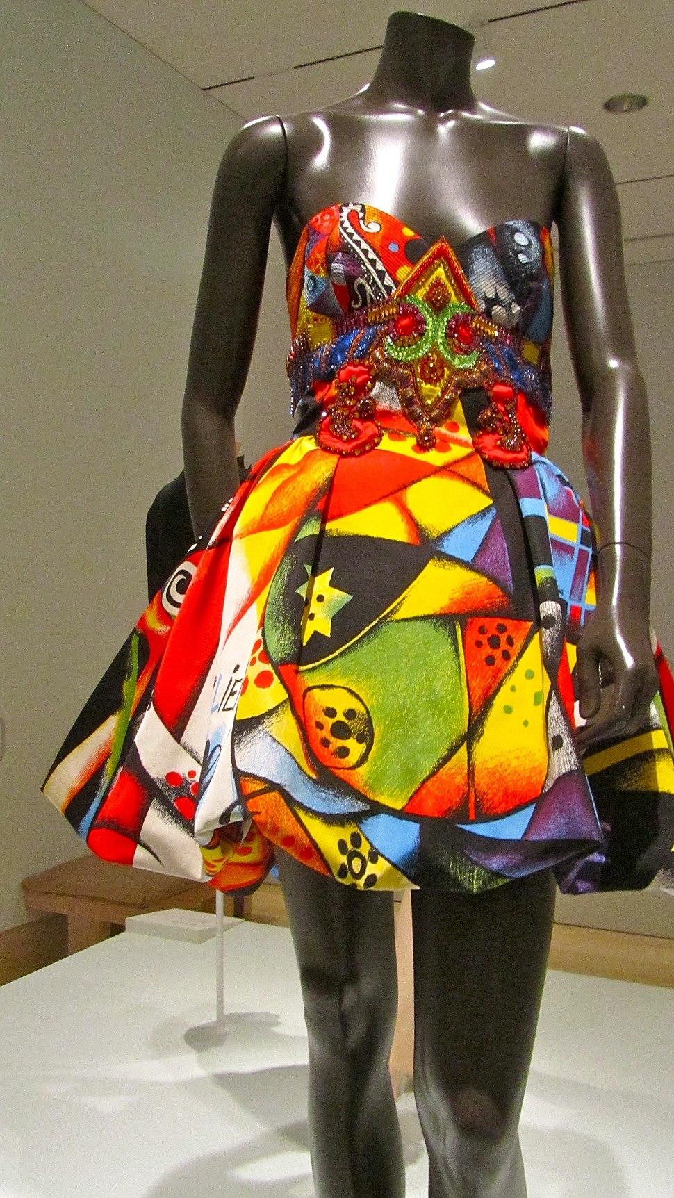 Gianni Versace evening dress vintage
