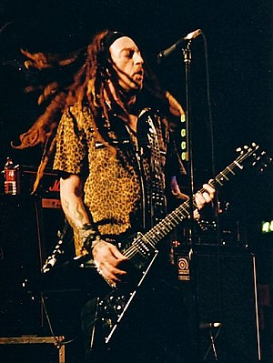 The Wildhearts - Image: Ginger from The Wildhearts