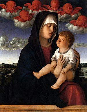 Madonna of the Red Cherubims - Image: Giovanni bellini, madonna dai cherubini rossi