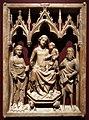 Giovanni d'agostino, madonna col bambino tra i ss. caterina d'alessandria e giovanni battista, 1340-50 ca.jpg
