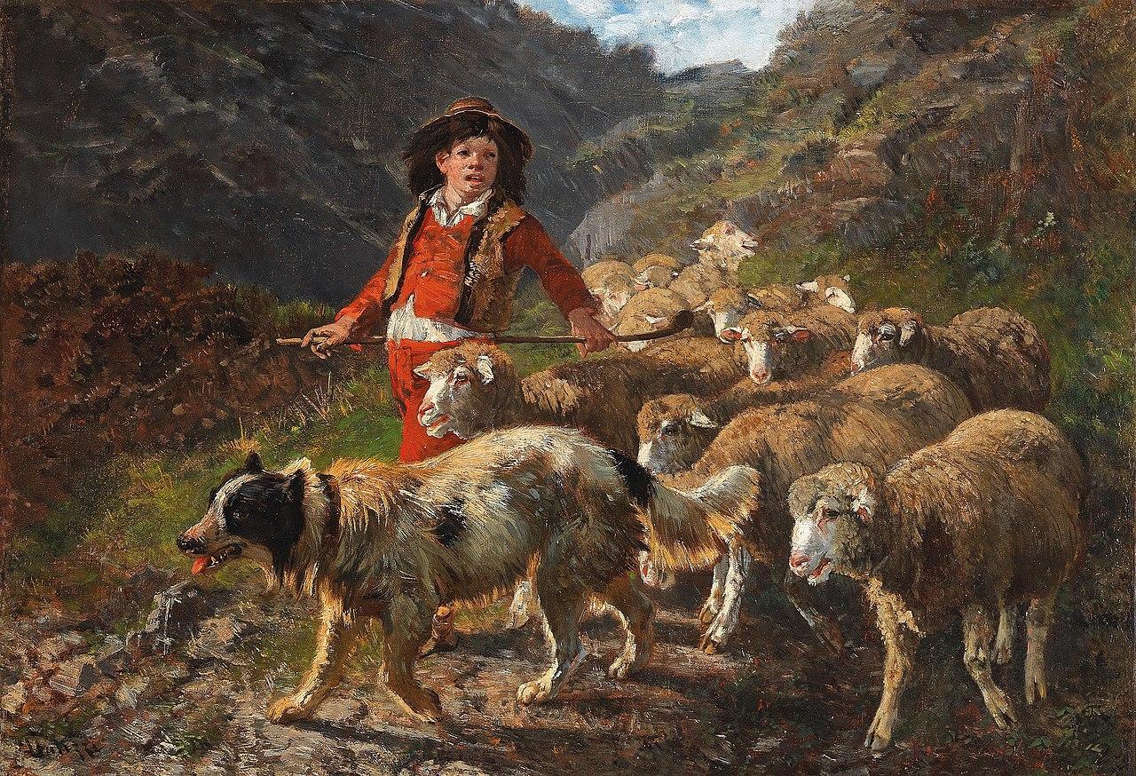 Giuseppe Palizzi Schäfer mit Herde.jpg