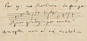 Opprandino Arrivabene - Image: Giuseppe Verdi, Letter of 17 March 1882