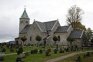 Gjerpen - Image: Gjerpen kirke 20071014 02