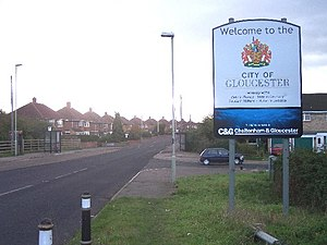 Gloucester City Limits. In the middle of an ur...