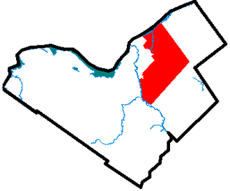 Gloucester, Ontario - Image: Gloucester Ontario locator map