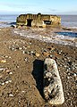 Godwin Battery Remains on Kilnsea Beach - geograph.org.uk - 1170484.jpg