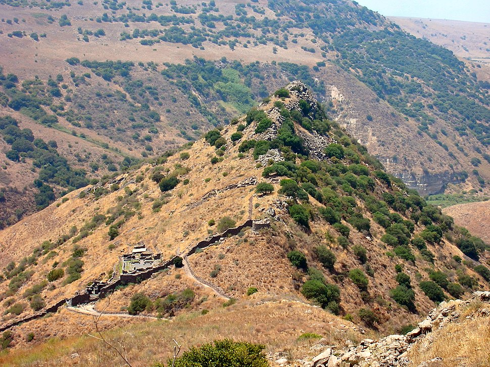 Golan Heights - Gamla view