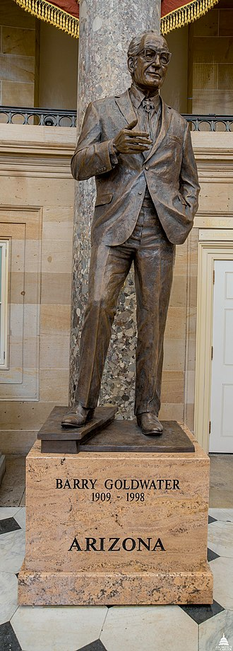 Barry Goldwater (Fellows) - The statue in the National Statuary Hall Collection