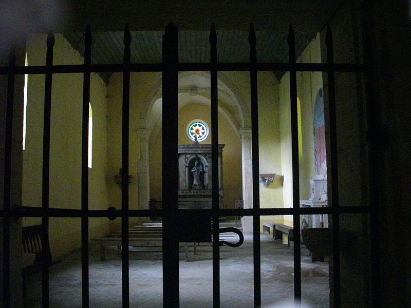 Saint Clement chapel of Gorze (Moselle, France). Interior