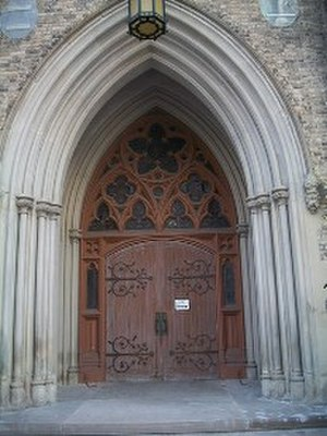 St. Michael's Cathedral Basilica (Toronto) - Gothic arch at St. Michael's