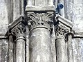 Gournay-en-Bray (76), collégiale St-Hildevert, chœur, chapiteaux du 1er doubleau, côté nord.jpg