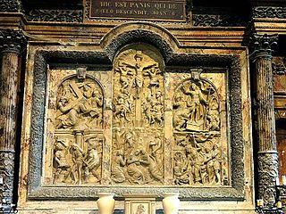 Retable de l'église Saint-Pierre-et-Saint-Paul de Goussainville
