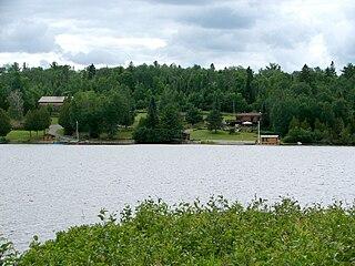 Gowganda Dispersed Rural Community in Ontario, Canada