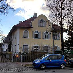 Bahnhofstraße in Gräfelfing