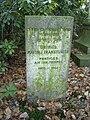 Grabplatte Naftali Frankfurter auf dem jüdischen Friedhof in Hamburg-Ohlsdorf.jpg