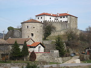 Karel Lavrič - Prem Castle near Ilirska Bistrica, where Lavrič spent his childhood