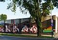 """Graffiti """"Muzyka Wczoraj i Dziś"""" na ścianie budynku przy ulicy Północnej 43. - panoramio.jpg"""