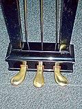 Grand piano pedals