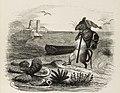 Grandville - Fables de La Fontaine - 08-09 . Le Rat et l'Huître.jpg