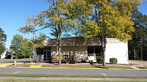 Sheridan, Arkansas - Grant County Library in Sheridan