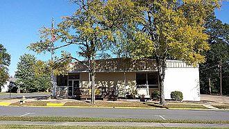 Sheridan, Arkansas - Grant County Library in Sheridan