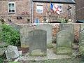 Grave of John Collorick, St Mary de Crypt Church, Gloucester.JPG