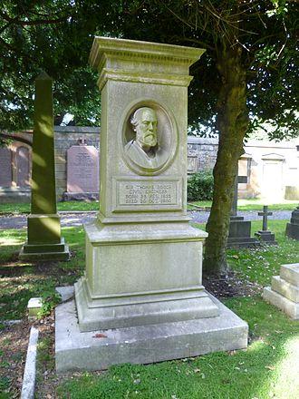 Thomas Bouch - Grave in the Dean Cemetery, Edinburgh