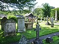 Graveyard, St Michael and All Angels Church, Muncaster - geograph.org.uk - 523831.jpg