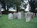 Graveyard beside Wimborne St Giles Church - geograph.org.uk - 306434.jpg