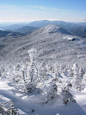Gray Peak (New York) - Image: Gray Peak from Mount Marcy