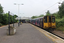 Great Northern Class 313 at Bowes Park June 2019.jpg