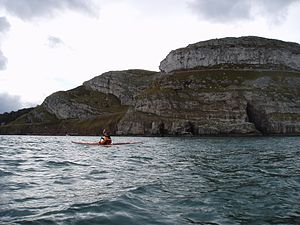 Great Orme - The Great Orme's limestone and dolomite cliffs