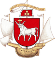 Greater coat of arms of Kaunas (Lithuania).PNG
