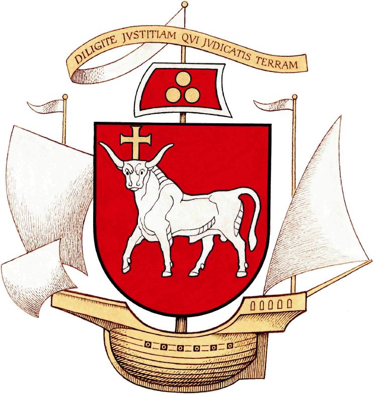 Greater coat of arms of Kaunas (Lithuania)