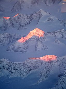 Aerial view of mountains on Greenland Greenlandmountains.jpg