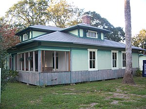 National Register of Historic Places listings in Gadsden County, Florida - Image: Greensboro Dezell House 01