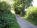 Greenway Lane, footpath junction - geograph.org.uk - 1495075.jpg