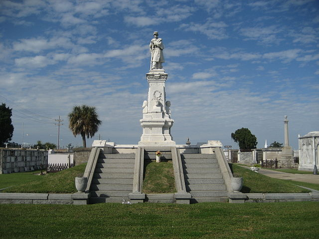 Confederate Monument, Greenwood Cemetery New Orleans