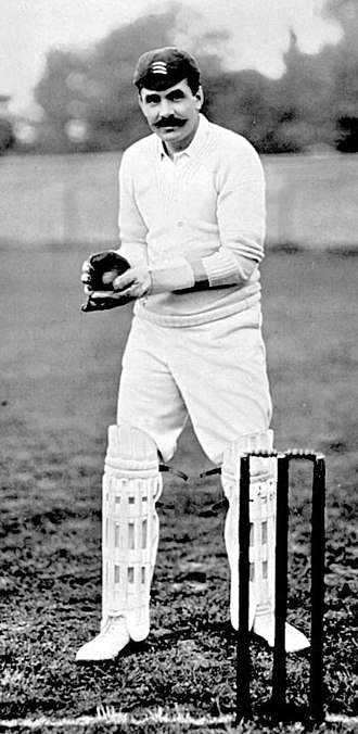 Gregor MacGregor (sportsman) - Image: Gregor Mac Gregor cricket c 1900