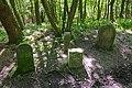 Grenzsteine am Dreiländereck in der Hohen Egge (Süntel) IMG 2800.jpg