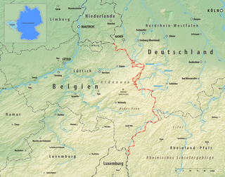 Belgium–Germany border Disconnects the territories of Germany and Belgium