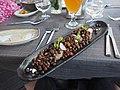 Grey peas at restaurant Milda in Riga.jpg