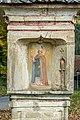 Griffen Stift Bildstock bez. 1779 südwestlich der Stiftsanlage Norbert von Xanten 22102015 1813.jpg