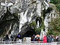 Grotto of Lourdes - Lourdes 2014.JPG