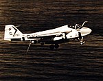 Grumman KA-6D Intruder of VA-165 in flight over the Indian Ocean on 28 November 1974 (428-GX-USN 1161611).jpg