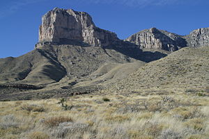 Guadalupe Mountains - Guadalupe Mountains in 2006