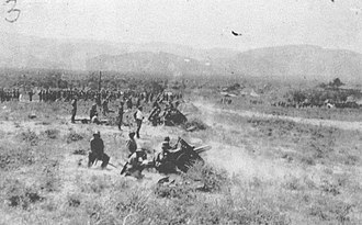 1930s - The Colombian Army countering a Peruvian attack during the Colombia–Peru War