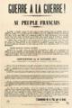 Guerre a la Guerre - APD pamphlet 1914.png